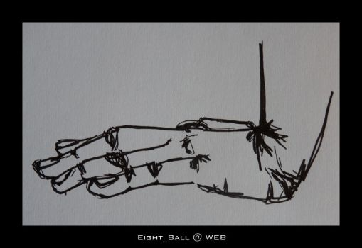 Hand Study 1 by 8Eight8Ball8