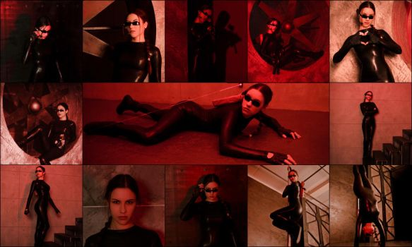 CATSUIT [2014] pack of 13 photos by TanyaCroft