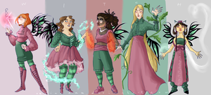 W.I.T.C.H. restyle part 2 by NerinaSam