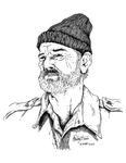 Sketchercise - Steve Zissou by BigDogsStudio