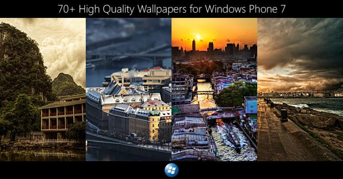 Wallpapers for Windows Phone 7 by UVSoak3d