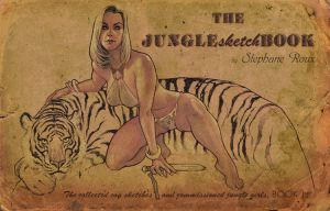 JungleSketchBook Vol.1 cover by StephaneRoux