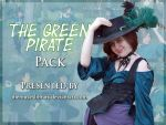 Green Pirate PACK by themuseslibrary