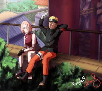 Narusaku colllab: Us and The Future by PumyteH