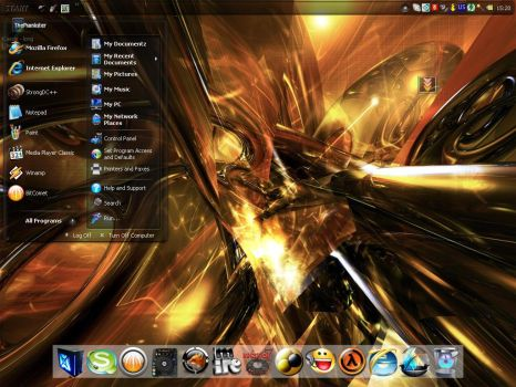 My Third Desktop for January by Most-Bg