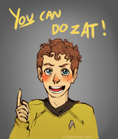 Motivational Chekov by cannorachan