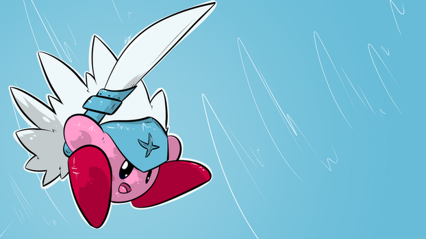 Spadamon Kirby - Day 1486 by Seracfrost