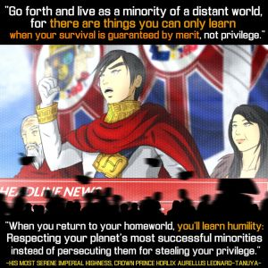 The Crown Prince's ascendancy speech by the-silentassassinAP