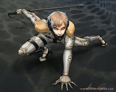 MGS4 Raiden by Naerko
