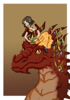 How to make your dragon pretty by TeaDarkA