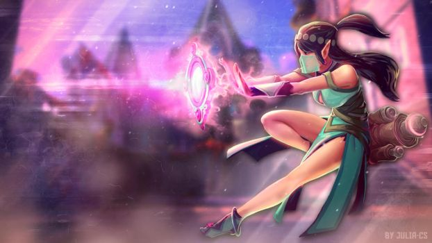 Ying Wallpaper (Paladins) by JULIA-CS