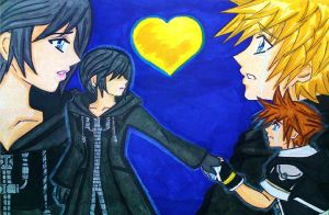 KH3D: Tears of the heart  by dagga19 by dagga19