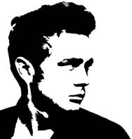 James Dean by Tomopoly
