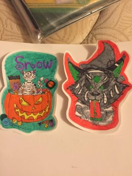 Badge commissions by Nightwave-Artist