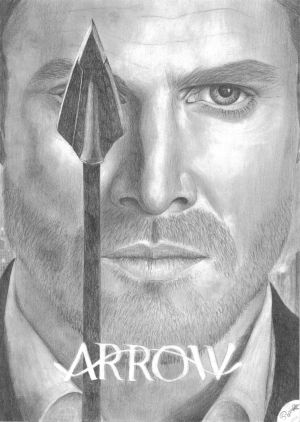 Oliver Queen by one-film-one-drawing