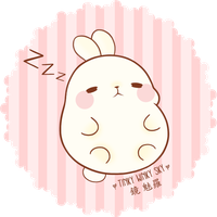Molang the Fat Rabbit by TinkyWinkySky