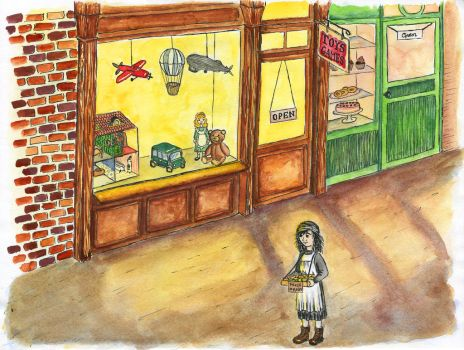 Annie and the Toy Store by Contessa-Corvulus