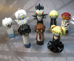 Wobbles: Death Note Group by okapirose