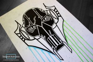 Drawing General Grievous [Star Wars SpeedDraw] by ImportAutumn