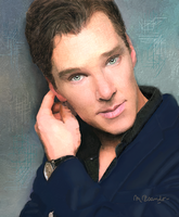 Benedict Cumberbatch-10 by BlueZest