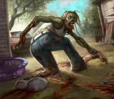 Infected Ghoul by faxtar