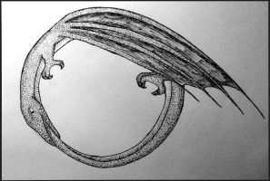 Ouroboros by VaughanFawn