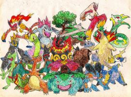 Starter Pokemon 3