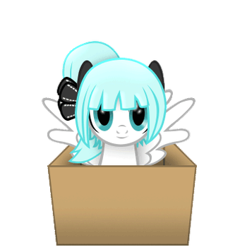 Minty Bow (In a box #26) by Sedrice