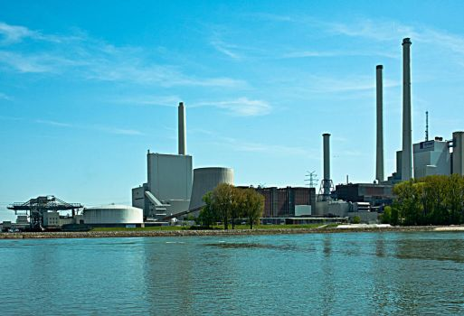 Factory on the Rhine by qwertziop