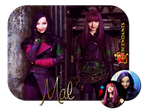 Descendants Blend #1 - Mal by feel-inspired