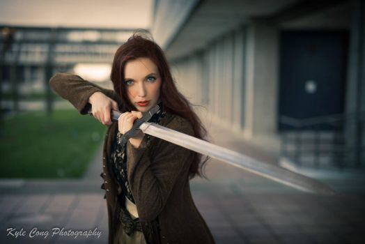 KC Scottish Lass by Gingersnap-Pixie
