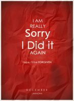 Sorry - Stained Poster by Shussain86