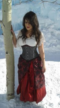 Red from Once Upon a Time Costume - Ice Castles 4 by PhoenixForce85