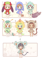[CLOSED] ADOPT SET PRICE 67 by Piffi-sisters
