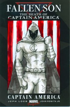 Moon Knight 'Fallen Son' by drewtjones