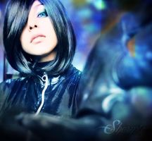 Black Wig by Shermie-Cosplay
