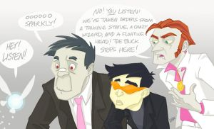 The Henchmen and Navi by CantonKid