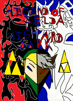 legend of zelda light and dark by fourswordslink