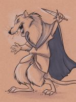 Rat Soldier by marymouse