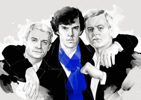 Believers (Sherlock BBC) by obscurial