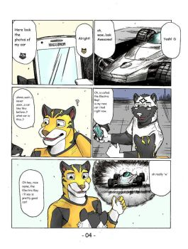 Rimba Racer in Radar and Tag comic Pg.4 by wingwolf88