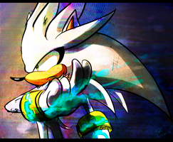 Silver the Hedgehog by Zoiby on DeviantArt  Silver The Hedgehog Walking