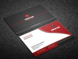 Corporate Business Card by naeem1200