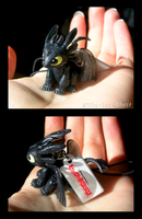 Toothless - Cell Phone Charm by The-Toy-Chest
