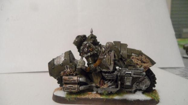 Nurgle Chaos biker  picture 4 by Dible