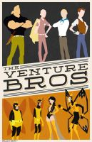 The Venture Bros poster by billpyle