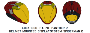 fa-70  Panther 2 Helmet call sine spiderman 3 by bagera3005
