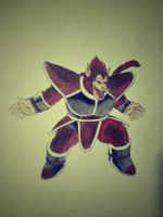 Raditz Great Ape by uchihadauksa