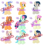 Cheap (10pt) Unloved Pony Adopts 3! (3/9 OPEN) by xDreamyDesigns