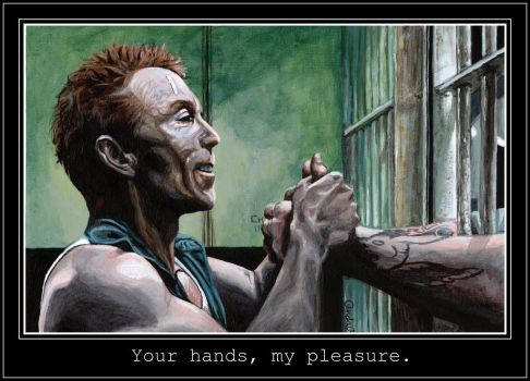 Your hands, my pleasure. by Aiwe